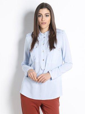 Блуза світло-блакитна | 2926137