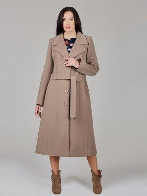 Пальто кофейного цвета   2652539