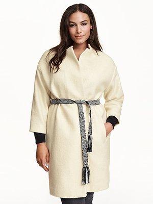Пальто молочного цвета | 3095672