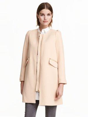 Пальто бежевое | 3095751