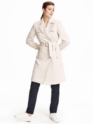 Пальто кремового цвета | 3095836