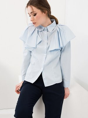 Блуза синяя | 3093720