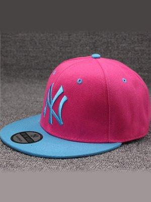 Кепка малиново-голубая «Нью-Йорк» | 3101698