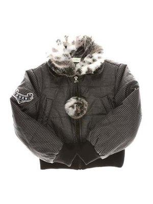 Куртка черная в клетку   3102836