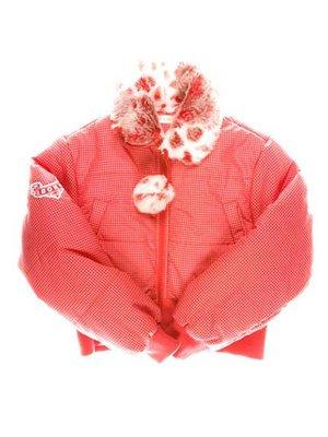 Куртка красная в клетку   3102809