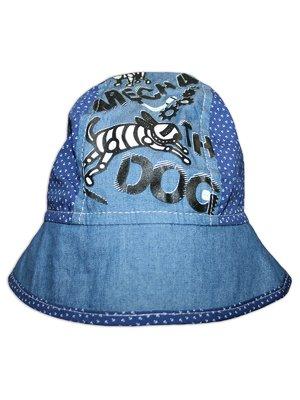Панамка синя з принтом | 3105571