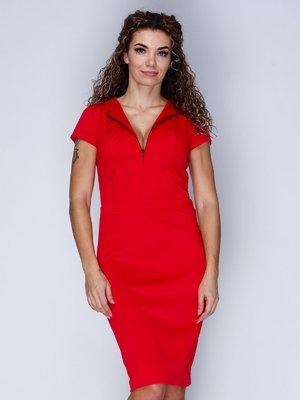 Платье красное | 3045402