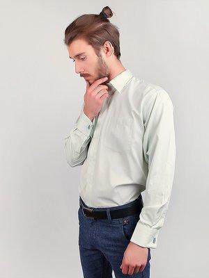 Рубашка светло-салатовая | 3108351