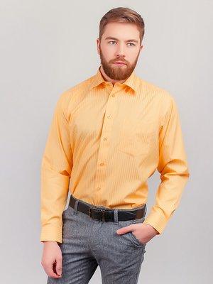 Рубашка песочного цвета в полоску | 3108357