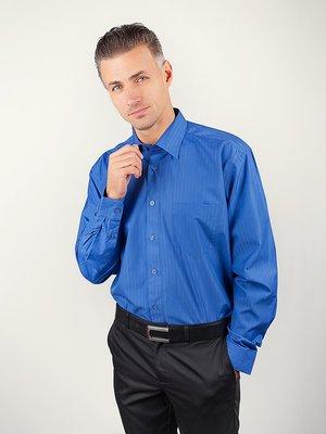 Рубашка синяя в полоску | 3108402