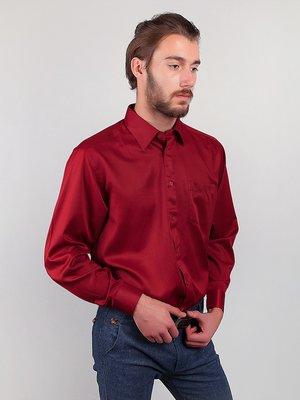 Рубашка бордовая | 3108440