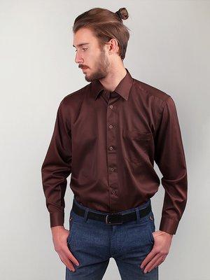 Рубашка коричневая | 3108447
