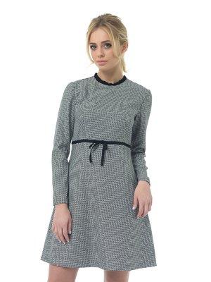 Платье черно-белое | 3106567