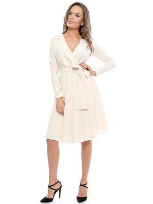 Сукня кольору айворі | 3111248