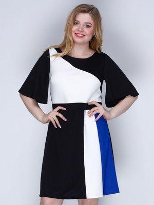 Платье трехцветное | 2820279