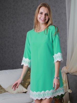 Сукня ментолового кольору | 3122361