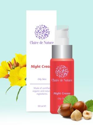 Крем ночной для лица для жирной кожи (50 мл) | 3128346