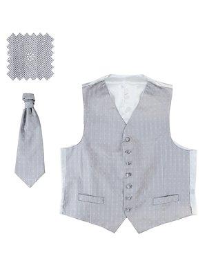 Жилет сірий і краватка | 3131316