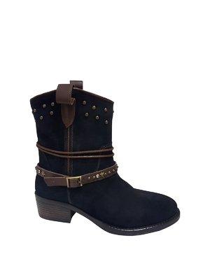 Ботинки синие | 3131046