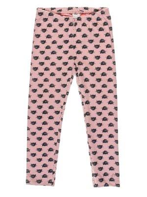 Легінси рожеві з принтом   3103875