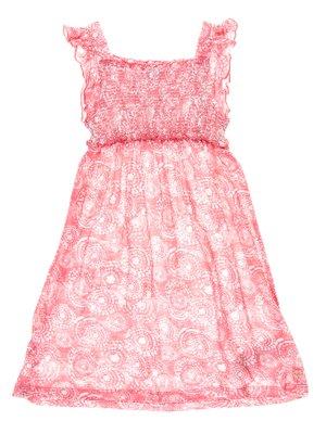 Сарафан рожевий з принтом   3103892
