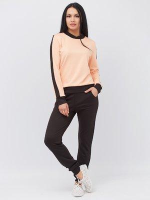 Костюм в спортивному стилі: штани і світшот | 3137322
