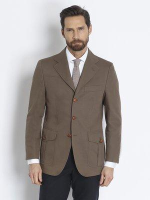 Піджак коричневий | 2210848