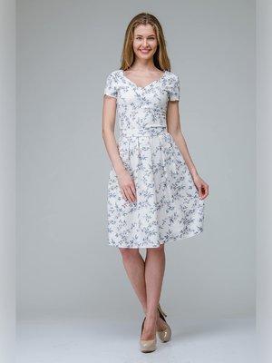 Сукня біла у візерунок | 3143276
