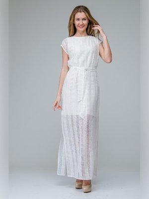 Сукня біла в смужку   3143353