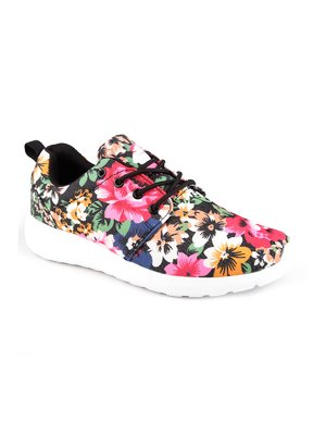 Кроссовки цветочной расцветки | 2742975