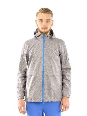 Куртка сіра в принт   3147592