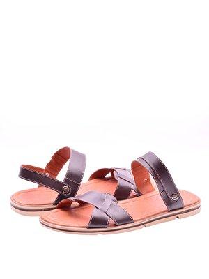 Сандалії коричневі | 3098754