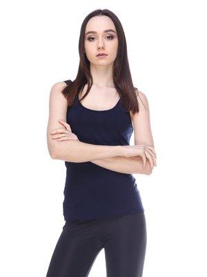 Майка темно-синяя | 3142430