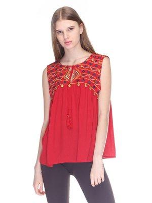 Блуза красная | 3010034