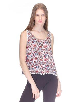 Блуза в цветочный принт | 3010035