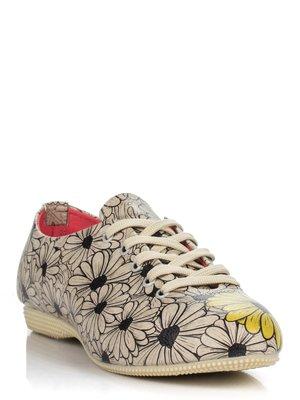 Туфли в цветочный принт | 3081091