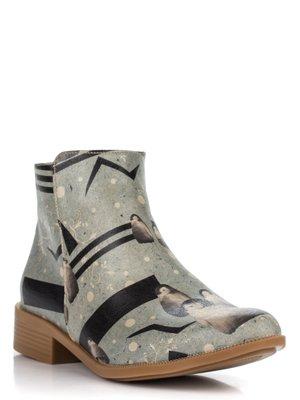 Ботинки в принт | 3081137