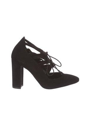 Туфли черно-коричневые | 3160112