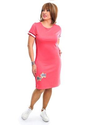 Сукня рожева у смужку | 3159032
