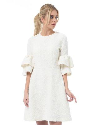 Платье молочного цвета | 3160012