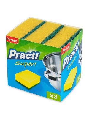 Губки кухонні Paclan (3 шт.) | 3167112