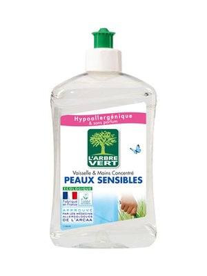 Жидкость для мытья посуды L'Arbre Vert «Чувствительная кожа» (500 мл) | 3167200