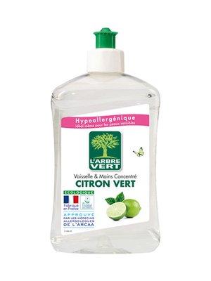 Жидкость для мытья посуды L'Arbre Vert «Лайм» (500 мл) | 3167201