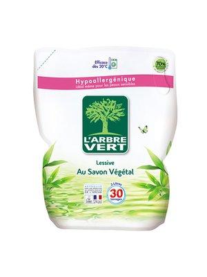 Средство для стирки L'Arbre Vert «Запасной блок — Растительное мыло» (2 л) | 3167202