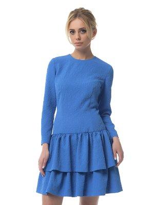 Платье синее | 3160007