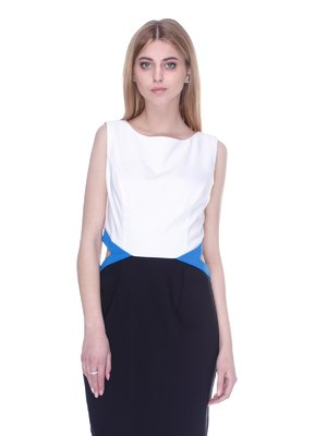 Сукня бiло-чорна | 3005480