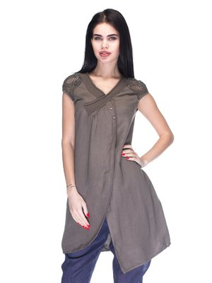 Сукня темно-коричнева | 3131024