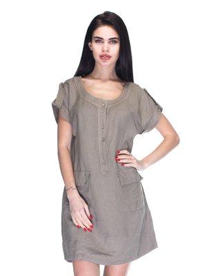 Сукня коричнева | 3131006