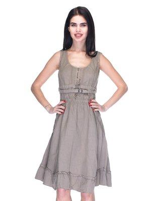 Сукня коричнева | 3131019