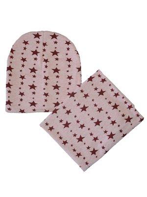 Комплект: шапка и шарф-снуд   3178164